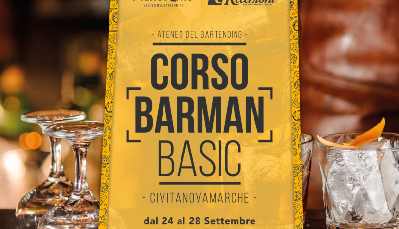 CORSO BARMAN BASIC SETTEMBRE