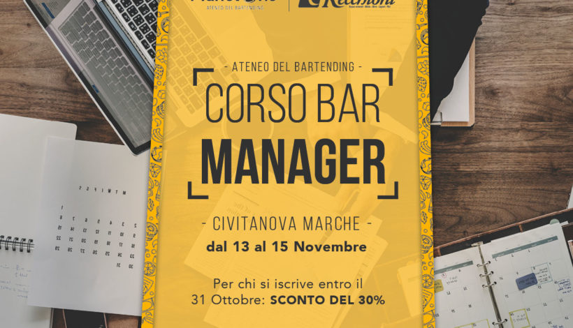 CORSO BAR MANAGER 1° LIVELLO