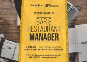 """""""BAR & RESTAURANT MANAGER"""" EVENTO GRATUITO"""