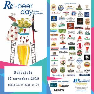 RE-BEER DAY 27 NOVEMBRE 2019