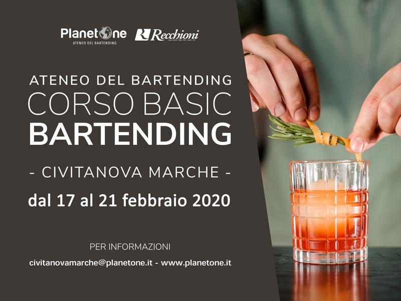 CORSO BARMAN BASIC FEBBRAIO DAL 17 AL 21