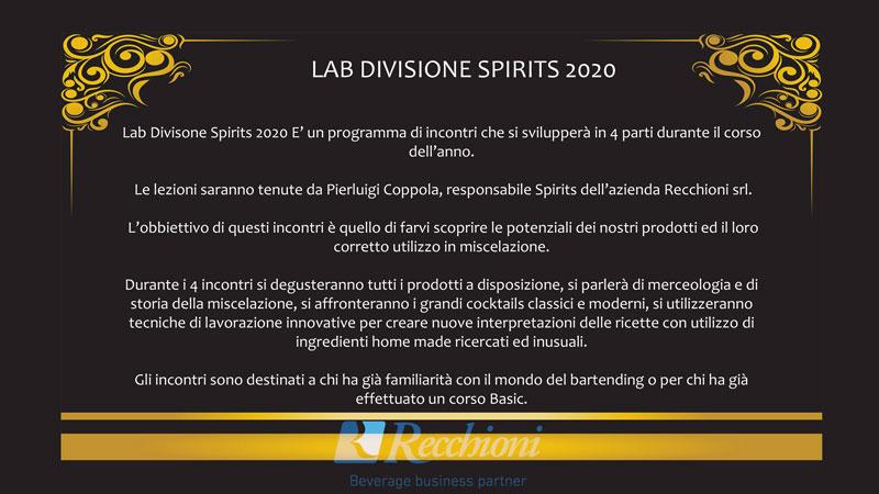 LAB DIVISIONE SPIRITS 2020